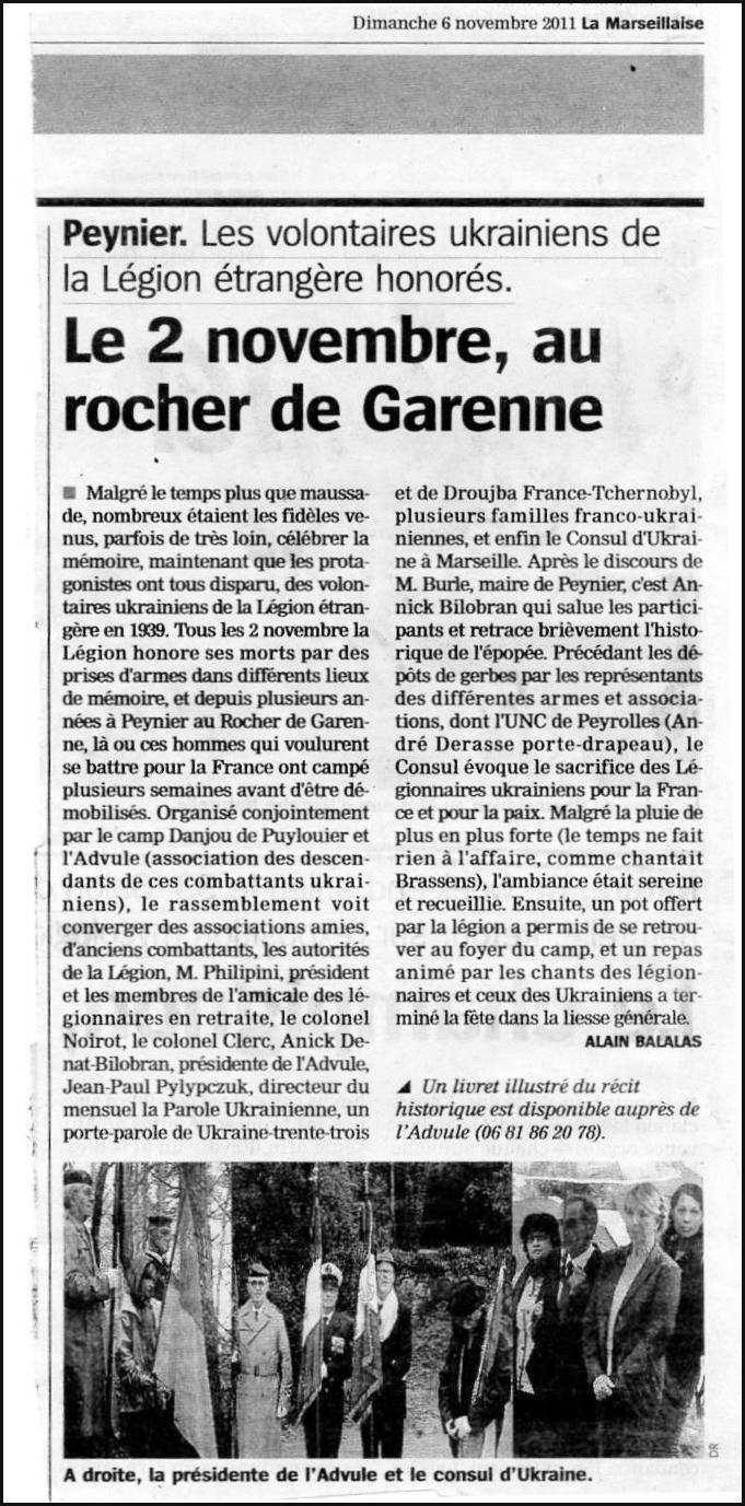 20111106 Peynier La Marseillaise