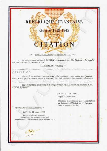 Citation papa